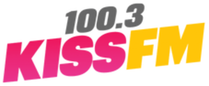 WMKS - Image: WMKS 100.3Kiss FM logo