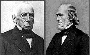 Worcester Polytechnic Institute - John Boynton (left) and Ichabod Washburn (right).
