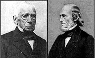 Worcester Polytechnic Institute - John Boynton (left) and Ichabod Washburn (right).