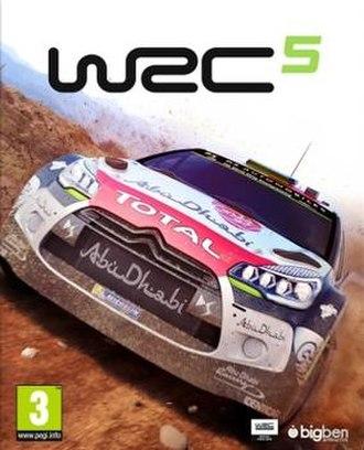 WRC 5 - European edition cover art