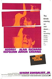 <i>Wait Until Dark</i> (film) 1967 film by Terence Young