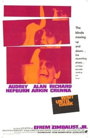 Wait Until Dark (film) - Theatrical release poster