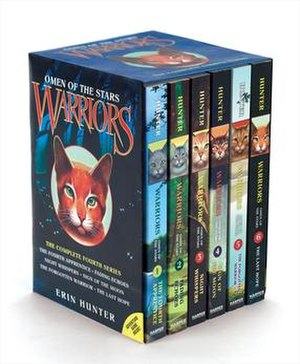 Warriors: Omen of the Stars - Boxed set of the six books in Omen of the Stars, with original cover art