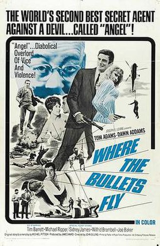 Where the Bullets Fly - Original American film poster