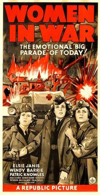 Women in War - Film poster