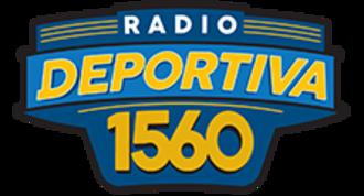 XEJPV-AM - Image: XEJPV Radio Deportiva 1560 logo
