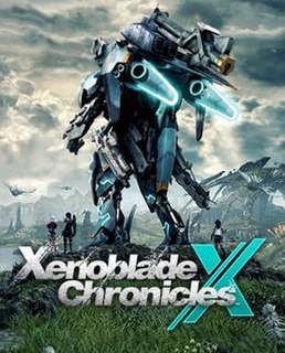 <i>Xenoblade Chronicles X</i> Japanese role-playing video game