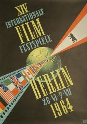 14th Berlin International Film Festival - Festival poster