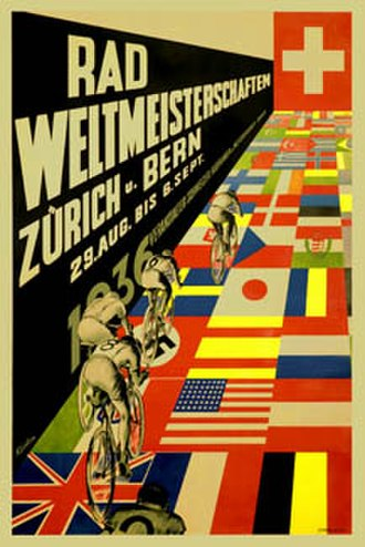 1936 UCI Road World Championships - Image: 1936 UCI Road World Championships poster