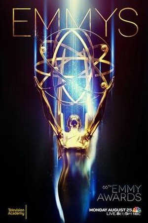 66th Primetime Emmy Awards - Promotional poster