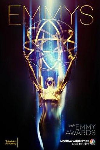 66th Primetime Emmy Awards - Promotional poster