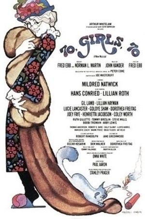 70, Girls, 70 - Original Broadway Windowcard