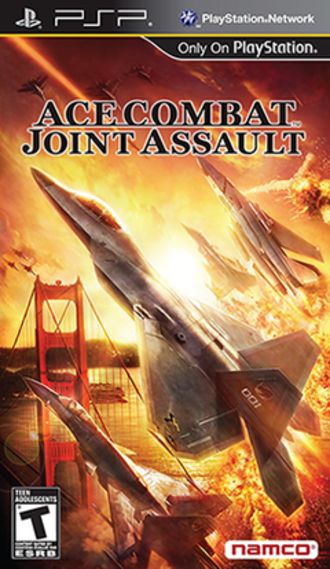 Ace Combat: Joint Assault - North American Cover Art