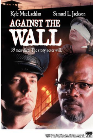 Against the Wall (1994 film) - Image: Against the Wall Video Cover