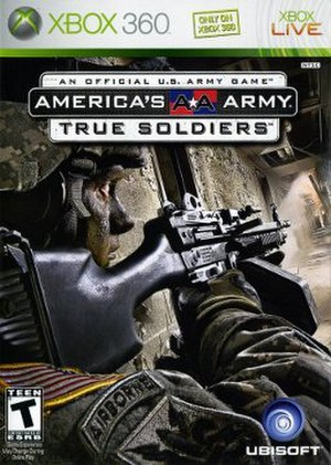America's Army: True Soldiers - North American cover