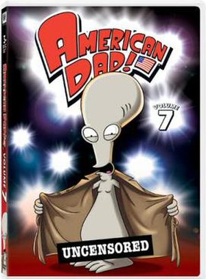 American Dad! (season 7) - Image: American Dad Volume 7