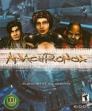 Anachronox - North American box art