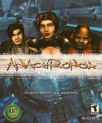 Anachronox - North American box art