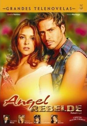 Ángel Rebelde - DVD cover
