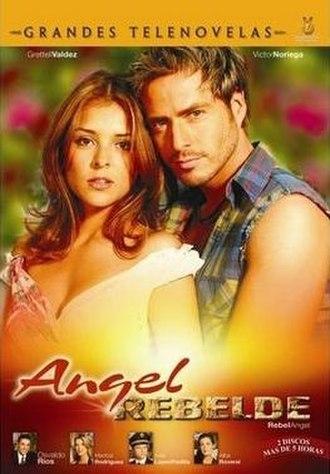 Ángel Rebelde - DVD cover