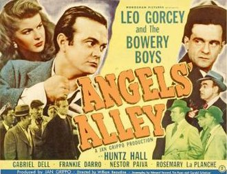 Angels' Alley - Lobby card to Angels' Alley