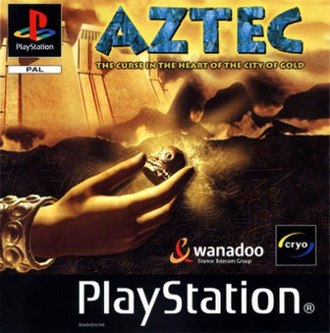 Aztec: The Curse in the Heart of the City of Gold - Cover art