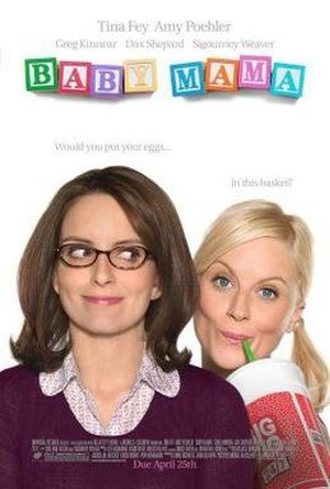 Baby Mama (film) - Theatrical release poster