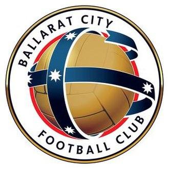 Ballarat City FC - Image: Ballarat City FC logo 2016