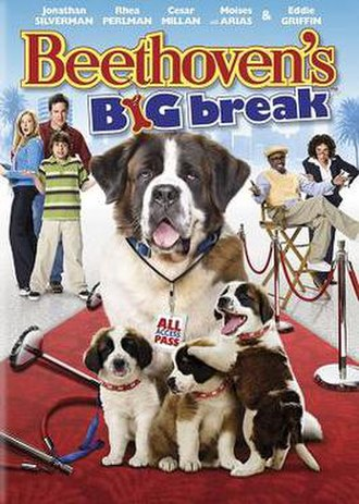 Beethoven's Big Break - DVD cover
