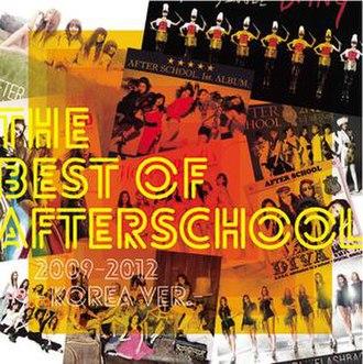 The Best of After School 2009-2012: Korea Ver. - Image: Best of After School
