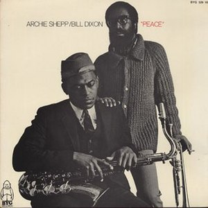 Archie Shepp – Bill Dixon Quartet - Image: Bill dixon archie shepp