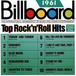 Billboard Top Rock'n'Roll Hits: 1961 - Image: Billboard Top Rock'n'Roll Hits 1961