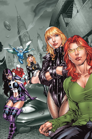 Birds of Prey (comics) - Image: Birds of Prey (team)