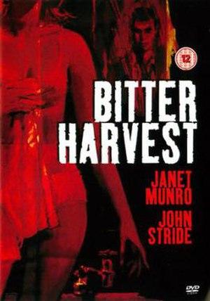 Bitter Harvest (1963 film) - Image: Bitter Harvest Film Poster