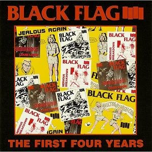 The First Four Years - Image: Black Flag The First Four Years cover