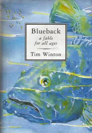 Blueback (novel) - First edition (publ. Pan Macmillan)