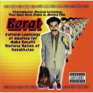 Borat (soundtrack) - Image: Borat Movie Soundtrack Cover