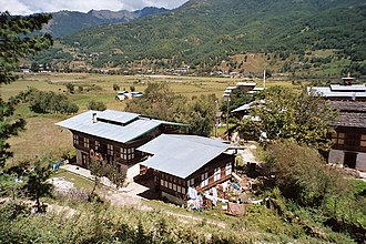 Jakar - Image: Bumthang Houses