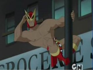 B'wana Beast - B'wana Beast in Justice League Unlimited.