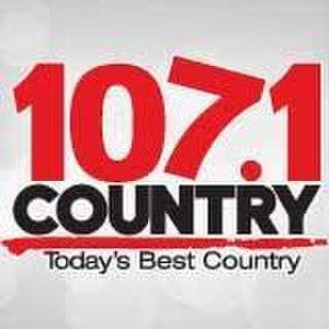 CKQC-FM - Image: CKQC 107.1COUNTRY logo