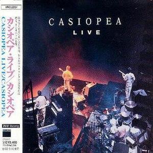 Casiopea Live - Image: Casiopea Livealbumcover