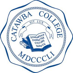Catawba College - Image: Catawba College Seal Blue