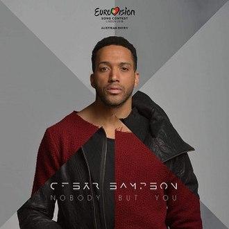 Nobody but You (Cesár Sampson song) - Image: Cesar Sampson Nobody but You