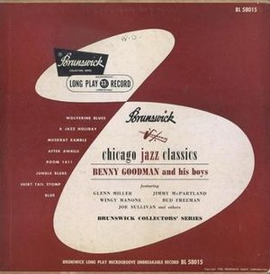"""Room 1411 -  """"Room 1411"""" appeared on the 1950 Brunswick LP Chicago Jazz Classics."""