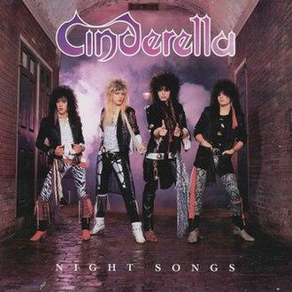 Night Songs (Cinderella album) - Image: Cinderella Night Songs