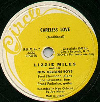 Circle Records - Image: Circle Lizzy Miles