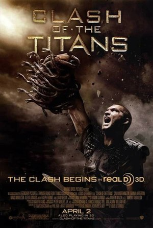 Clash of the Titans (2010 film) - Theatrical release poster