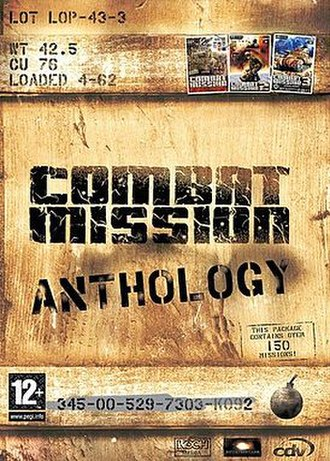 Combat Mission - Cover art for Combat Mission Anthology collection