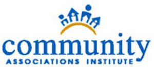 Community Associations Institute - Logo of the Community Associations Institute.