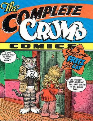 The Complete Crumb Comics - Cover to Volume 3 of the Complete Crumb Comics